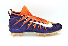 Nike Alpha Menace Elite Football Cleats Clemson Tigers Orange SZ 13  877141-815