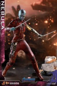Hot Toys Avengers: Endgame Nebula MMS534 1/6 Scale Action Figure New In Shipper