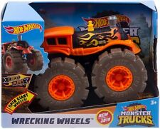 Hot Wheels Monster Trucks Wrecking Wheels  LOCO PUNK Toy Vehicle