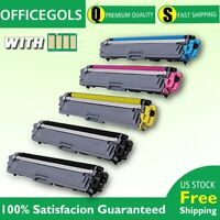 5PACK For Brother TN223 Toner With CHIP MFC-L3770CDW MFC-L3710CW US STOCK