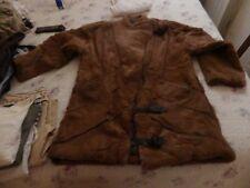 manteau de fourrure veritable et cuir T 40 / 42 très bon état