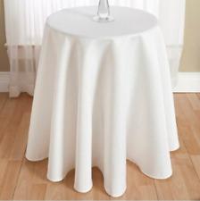 """Manor Liners Braeden Woven Round Table Cover - 70"""""""