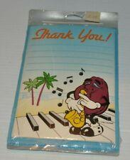 THE CALIFORNIA RAISINS THANK YOU CARDS SEALED 1988 Calrab Amscan