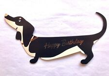 NEW Dog Greeting Card Birthday Card Dachshund Dogs Gifts 3D Card