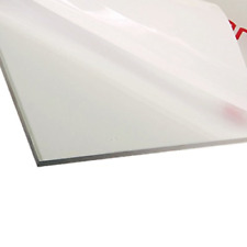 Polycarbonate Clear Plastic Sheet 12 X 18 X 00625 116 Shatter Resistant