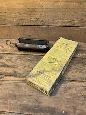 """Safety Belt Lacer Co. 0 - 6"""" Vise Lacing Tool Flat Belt Alligator Steel 35-N Old"""