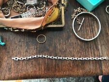 Tiffany & Co T Narrow Chain Bracelet