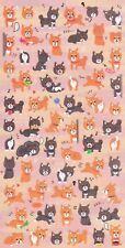 Cute Shiba Inu Puppy Dog Stickers Kawaii Pet Japanese Stationery Doge Great Gift
