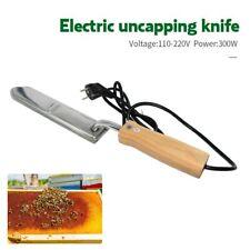 Couteau à Désoperculer Electrique en Acier Inoxydable Cadre CireExtraction miel