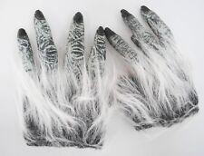 Furry Werewolf Wolf Man Hands Gloves Hairy Halloween Horror Accessories IL2151