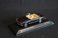 Minichamps Mercedes-Benz 280 SL Cabriolet 1965 1:43 dark Red (JS)