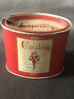 Vintage Cavalier King Size Cigarettes 100 Reynolds Winston Salem GA Tax Stamp