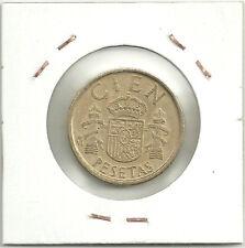 MONEDA DE 100 PESETAS DE 1986 (6 MAS CERRADO EN FECHA) ERROR COIN