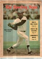 The Sporting News Newspaper August 9, 1969 The Big Bomb Giants' Willie McCovey G