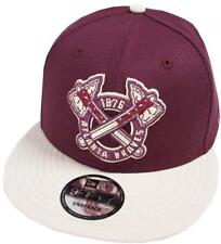 NEW Era Atlanta Braves Maroon Cooperstown Snapback Cap 9 FIFTY Limited Edition