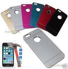 Funda Carcasa metal para iPhone SE + (Protector opcional) Aluminio colores