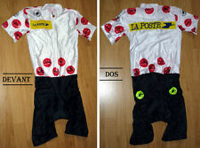 """Collection vintage - Combinaison Cuissard """"Meilleur grimpeur"""" vélo Cyclisme"""