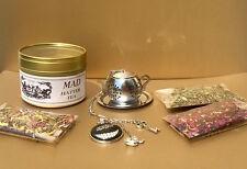 Mad Hatter Tea Party gift set Alice in Wonderland gifts Tea Infuser tea Strainer