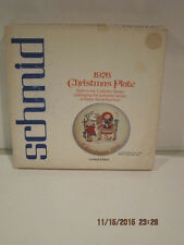 Schmid Bros Berta Hummel 1976 Limited Edition Sacred Journey Setting Plate F/SHP