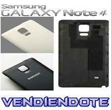 Tapa Trasera Original De Bateria Para Samsung Galaxy Note 4 N9100 Negro Blanco