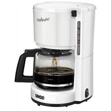 Unold 28120 Kaffeeautomat Compact Weiss Filterkaffeemaschine Glaskanne 1100 W