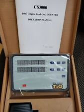 T&O 2 AXIS STANDARD DRO COUNTER CS3000 NEW IN BOX