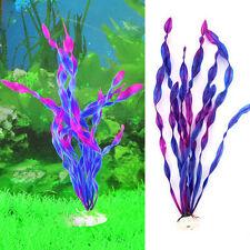 New Artificial Plastic Aquarium Plants Water Grass Ornament Fish Tank Decoration