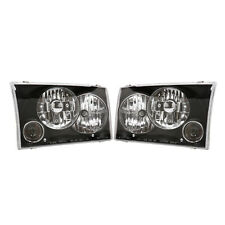 APC Head Light 1999-2004 Ford F-250 F-350 Super Duty w/ Projector Fog Lamp