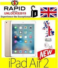 New Apple iPad Air 2 16GB, Wi-Fi, Retina Screen, 9.7in - Gold MH0W2B/A