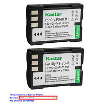 Kastar Replacement Batteryr for Olympus BLM-1 BLM-01 Camedia C-5060 Wide Zoom