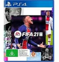 FIFA 21 PS4 not pegi but english cover Brand New & Sealed Free UK P&P