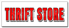 Thrift Store Decal Sticker Clothing Furniture Household Clothes Appliance
