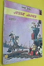 LUCKY LUKE  JESSE JAMES MORRIS ET GOSCINNY / DARGAUD / 1971