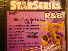 SOUND CHOICE STAR SERIES KARAOKE CDG SCST2457 MARVIN GAY GREAT SONGS