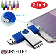 32gb-512gb 2 in 1 USB Memory Stick Flash Thumb Pen Drive Samsung/Android/PC/MAC