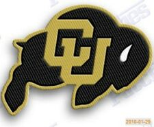 COLORADO BUFFALOES   iron on embroiderey PATCH COLLEGE UNIVERSITY state patches