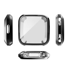 Transparent TPU Cover Case Protective Shell Protector For Fitbit Versa Watch