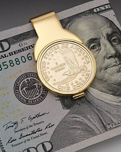 American Eagle Dollar Money Clip, United States Dollar Money Clip,( # 2000BUM )