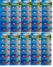 EUNICELL - lot de 100  Piles Bouton  AG3/392/LR41/SR41SW
