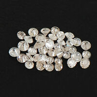 0.40 Carat Round Cut Natural Stunning White Loose Diamond Lot With Certificate