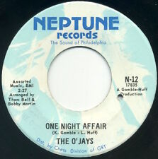 """THE O'JAYS One Night Affair/There's Someone (Waiting Back Home) 7"""" 1969 EX"""
