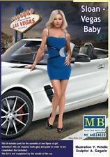 Masterbox 1:24 Scale Figure Model Kit  - Sloan - Vegas Baby MAS24020