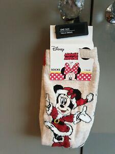 Disney Socks Minnie Mouse Brand New
