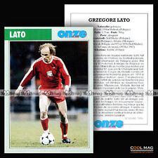 LATO GRZEGORZ (STAL MIELEC, KSC LOKEREN, ATLANTE) 1976 - Fiche Football 1996