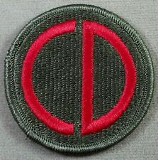 US Army 85th Infantry Division Full Color Merrowed Edge Patch