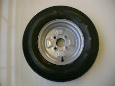 TRAILER WHEEL & TYRE 145 80 B 10  4 PLY  4 STUD 100 MM  PCD NEW ITEM