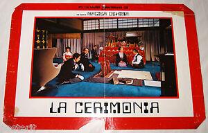 fotobusta film GISHIKI - LA CERIMONIA Nagisa Oshima 1971