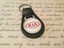 Kia  Quality Black Real Leather Keyring Sportage Rio Picanto cee'd Optima