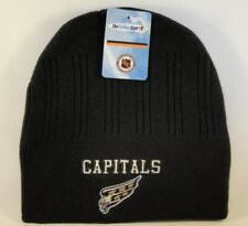 Washington Capitals NHL Vintage Knit Hat Beanie Black