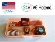 24V J-head V6 E3D Hotend 1.75mm/0.4mm Nozzle Bowden Extruder Reprap 3D Printer